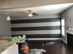 primary painting interior stripes