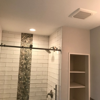 Primary Painting Project Management Master Bathroom After